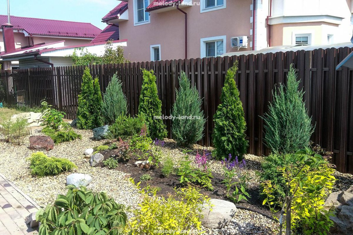 Озеленение малых садов