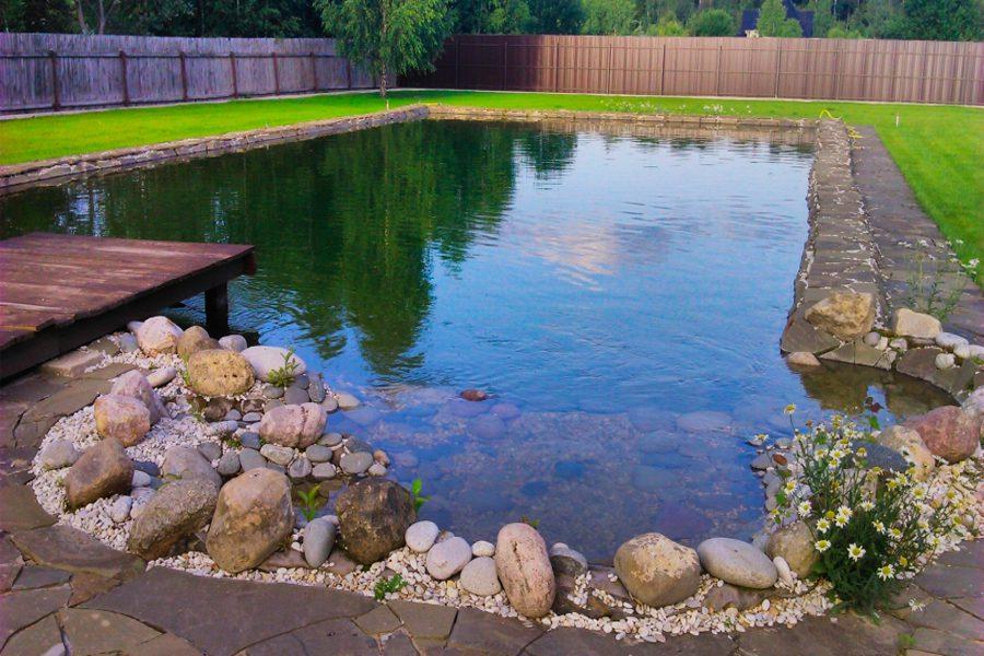 Устройство прудов и водоемов